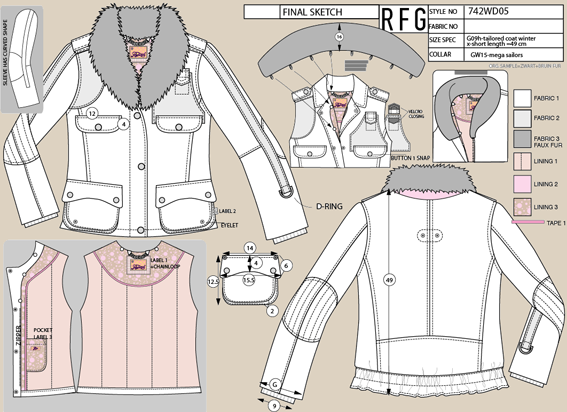 Random work from TEMPEL DESIGN - Hilde Tempelman   apparel design   jackets & coats