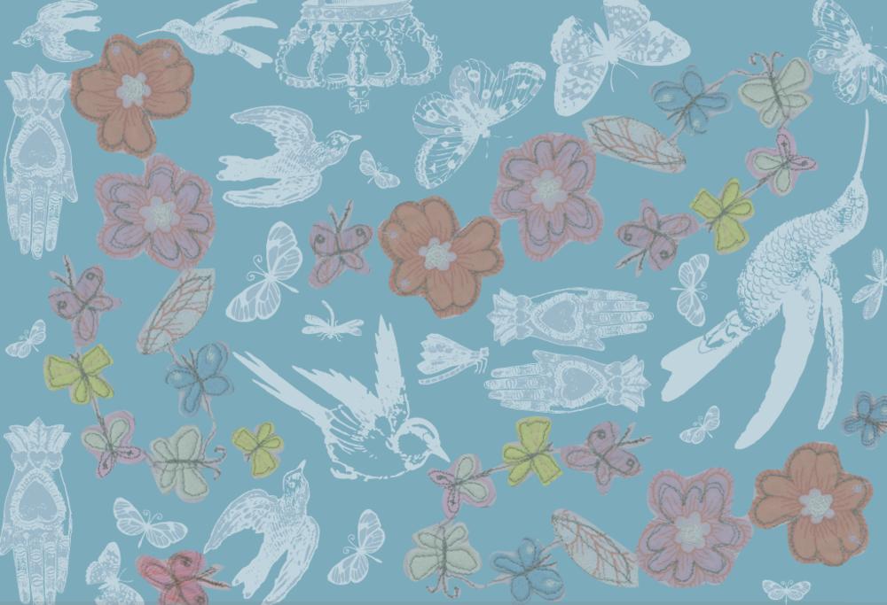 Random work from TEMPEL DESIGN - Hilde Tempelman | surface design & textile prints | birdprint