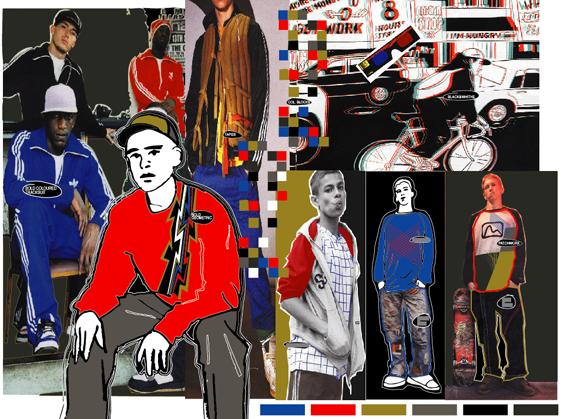 Random work from TEMPEL DESIGN - Hilde Tempelman | mood, colour, art direction | Rags mood 3D