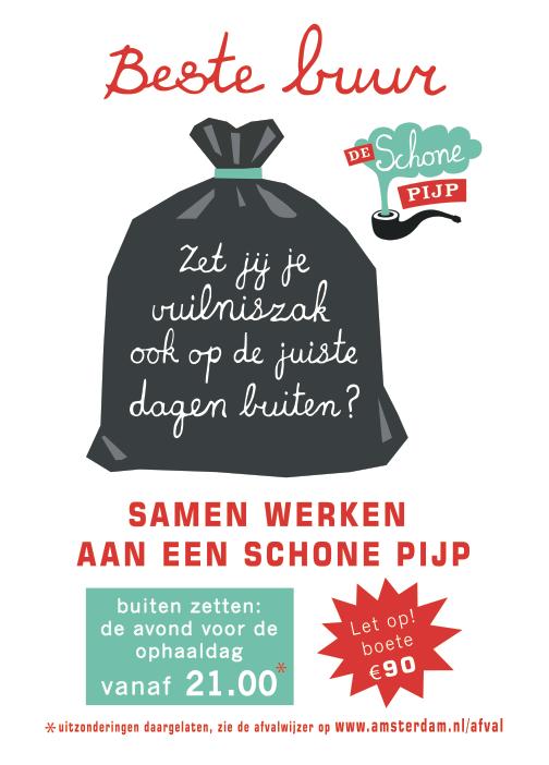 Random work from TEMPEL DESIGN - Hilde Tempelman   graphics   Poster De Schone Pijp