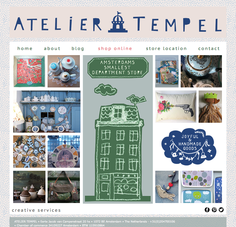 Random work from TEMPEL DESIGN - Hilde Tempelman | graphics | house style Atelier Tempel