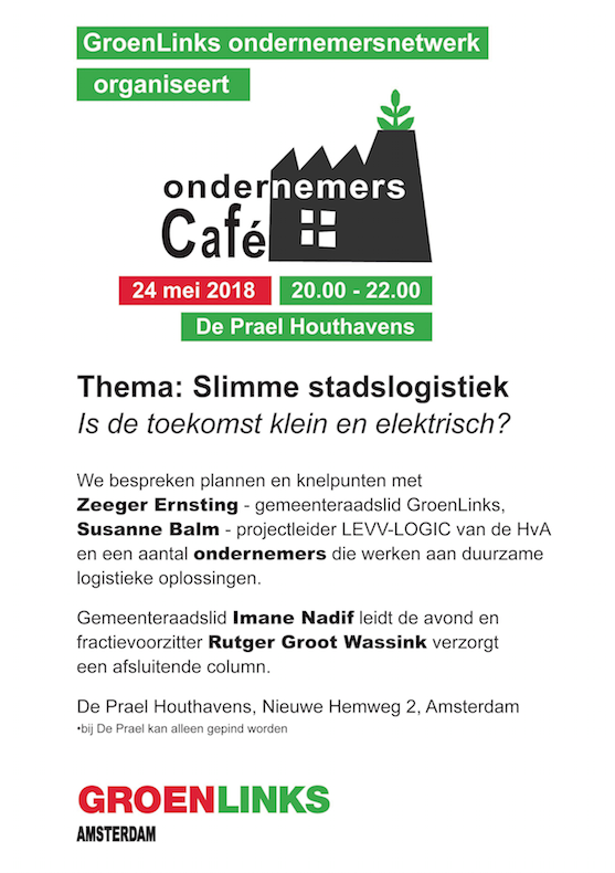 Random work from TEMPEL DESIGN - Hilde Tempelman | graphics | flyer green companies network Amsterdam