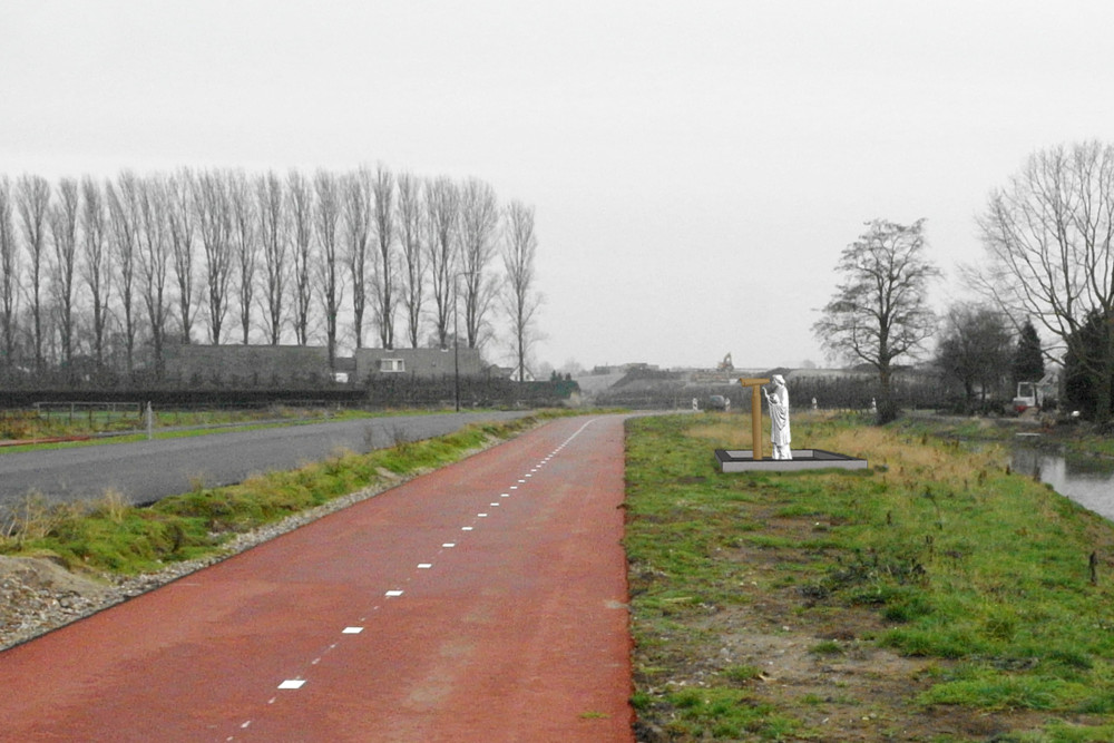 Random work from Niels van der Kuur, beeldende kunst in de openbare ruimte   In opdracht   Schetsontwerp Overbetuwe 2012