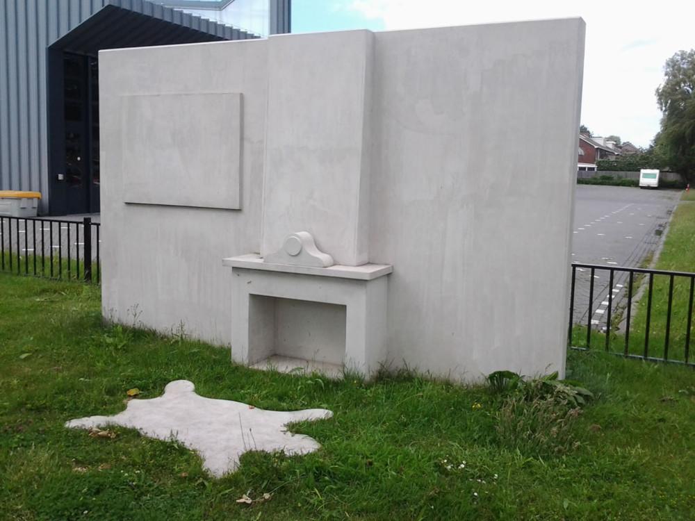 Random work from Niels van der Kuur, beeldende kunst in de openbare ruimte   Objecten / Installaties / Kunst in de openbare ruimte   Fireside, 2010