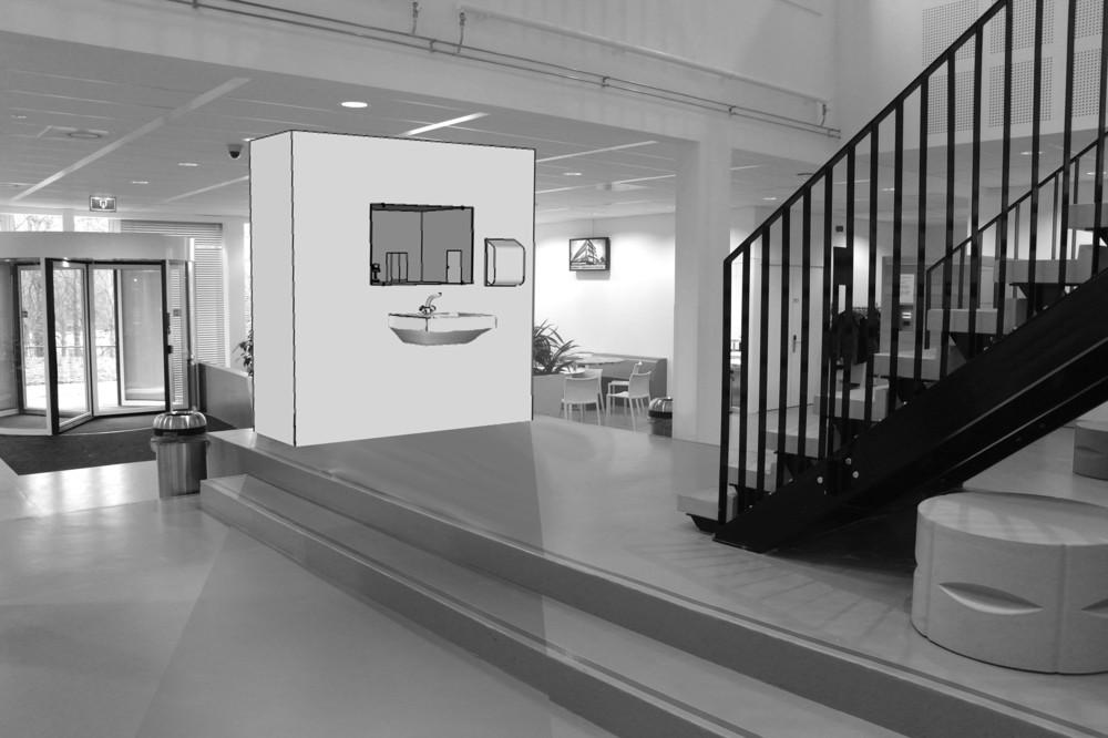 Random work from Niels van der Kuur, beeldende kunst in de openbare ruimte | Schetsopdrachten | Schetsontwerp Zorgacademie i.o.v. de Zorgacademie Heerlen 2013
