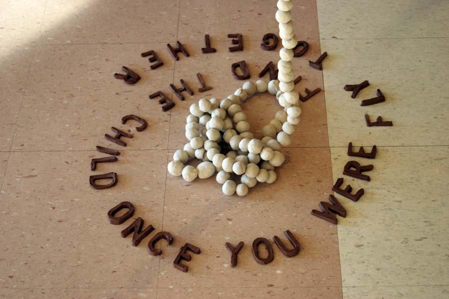 Random work from Rosella Fida   Performances/Installations   2005 - DREAMS & BEYOND, Talento Bilingue Gallery, Houston (Texas)