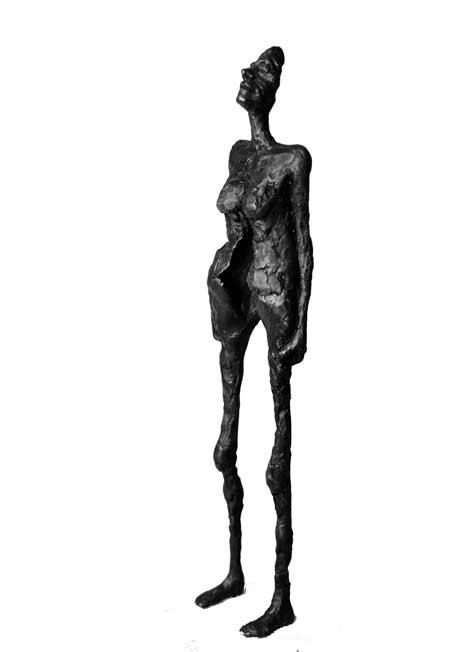 "Random work from Rosella Fida | Bronzes | STAYING TOGETHER, 2010 bronze - 1/8 47x12x7cm - 18""x5""x3"""