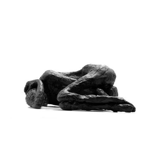 "Random work from Rosella Fida   Bronzes   RIEN N' EST PLUS COMME AVANT, 2010 bronze, 1/8 - 26X15X12cm - 10""x6""x5"""