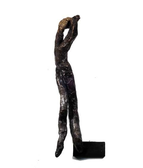 "Random work from Rosella Fida | Bronzes | WHISPER, 2008 bronze - piece unique - 20x10x7cm - 8""x4""x3"""