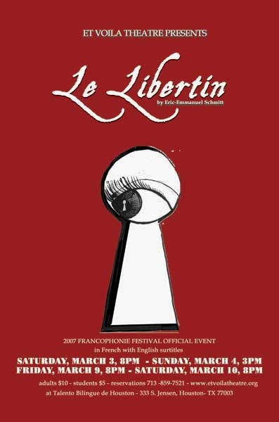 Random work from Rosella Fida | Illustrations | 2007, LE LIBERTIN - ETVOILATHEATRE