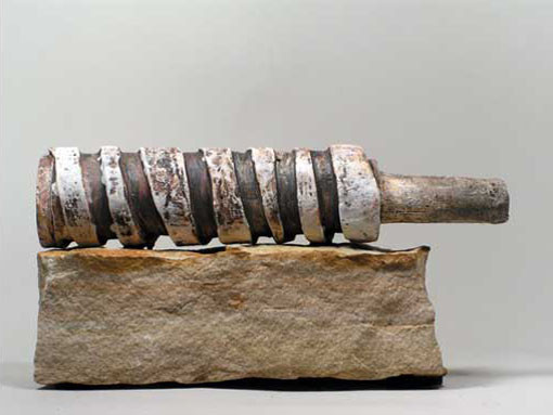 "Random work from Rosella Fida | Ceramics | TOURNING AROUND, 2007 - High fire clay, oxydes - 15x25x10cm - 6""x10""x4"""