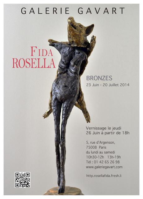 Random work from Rosella Fida | Expositions | BRONZES, 2014