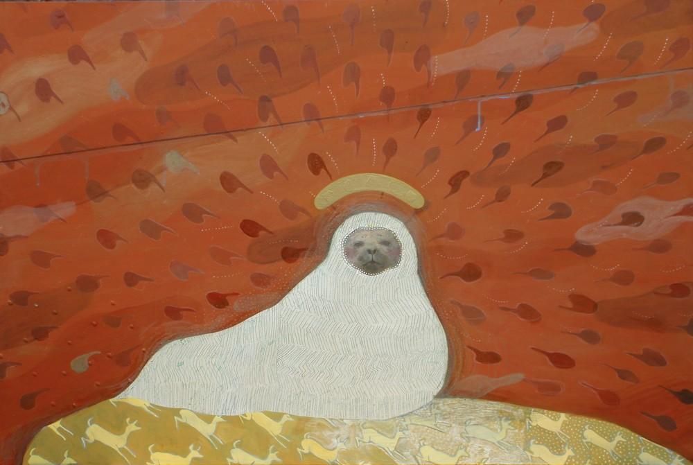 Random work from Mayumi Niiranen Hisatomi | Paintings  2010 | Mansikka norppa