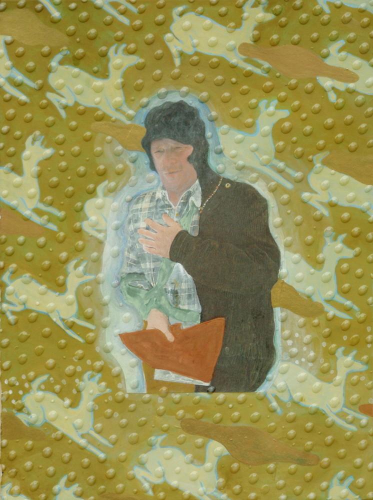 Random work from Mayumi Niiranen Hisatomi | Paintings  2010 | Norpan mies