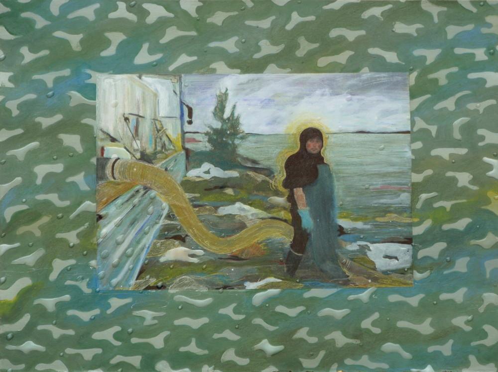 Random work from Mayumi Niiranen Hisatomi | Paintings  2010 | A pipe man