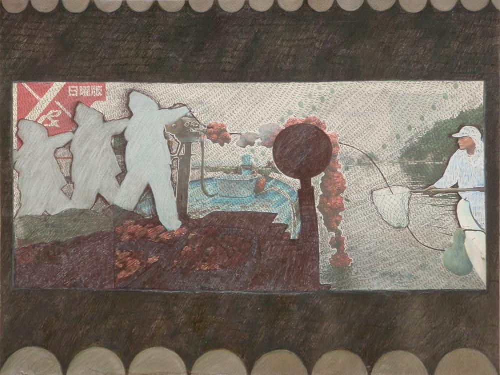 Random work from Mayumi Niiranen Hisatomi | Paintings  2010 | Sunday work