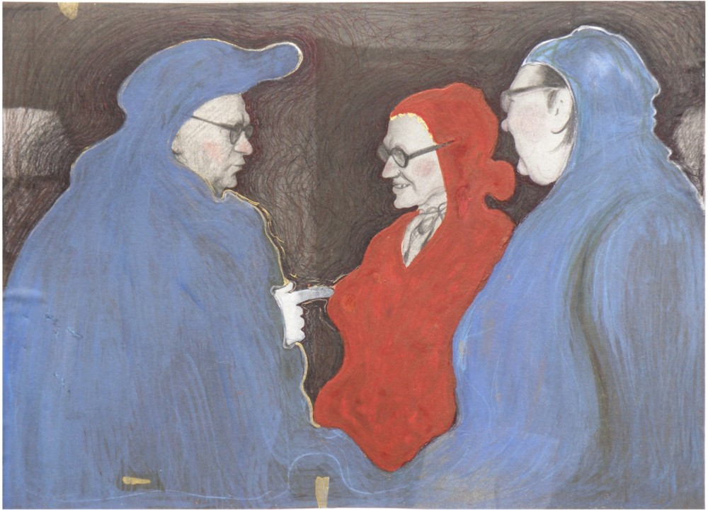 Random work from Mayumi Niiranen Hisatomi | Paintings   2011 | Three mountains ll