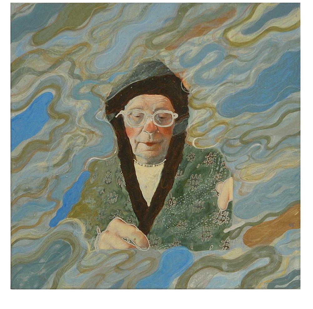 Random work from Mayumi Niiranen Hisatomi   Paintings   2011   Someone's portrait ll
