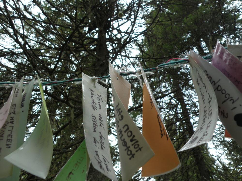 Random work from Mayumi Niiranen Hisatomi | Installation Ⅱ  2012 | Tanabata room (installation size: variable)
