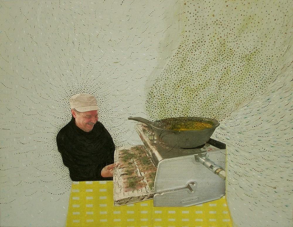 Random work from Mayumi Niiranen Hisatomi | Paintings  2008-2009 | Pappa (papan ruoka)