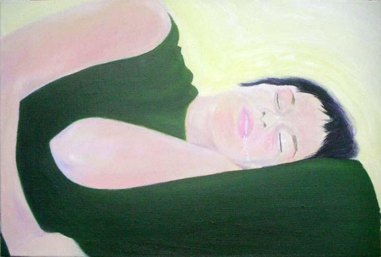 Random work from HENNI KITTI | MAALAUKSET ////////// PAINTINGS | Kuolaa; 54 x 81 cm; öljy kankaalle; 2007
