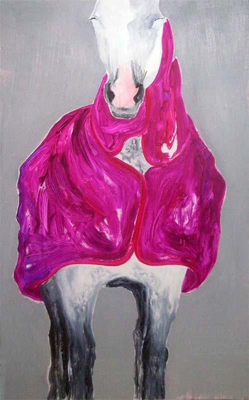 Random work from HENNI KITTI | MAALAUKSET ////////// PAINTINGS | Loimi; 90 x 150 cm; öljy kovalevylle; 2008