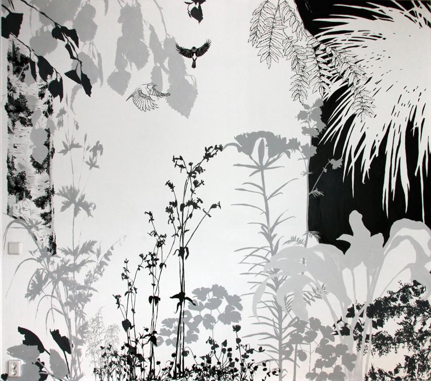 Random work from HENNI KITTI | MAALAUKSET ////////// PAINTINGS | Nimetön (seinämaalaus); 270 x 240 cm; akrylaatti; 2012