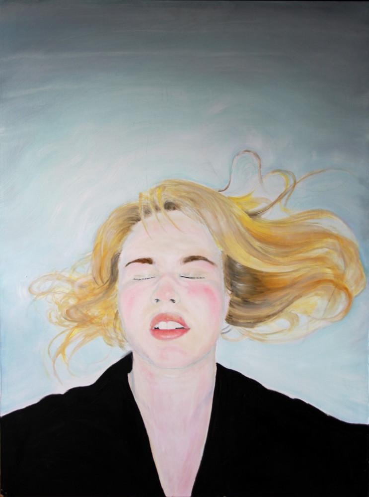 Random work from HENNI KITTI | MAALAUKSET ////////// PAINTINGS | Nukkuu; 60 x 80 cm; öljy MDF:lle; 2008