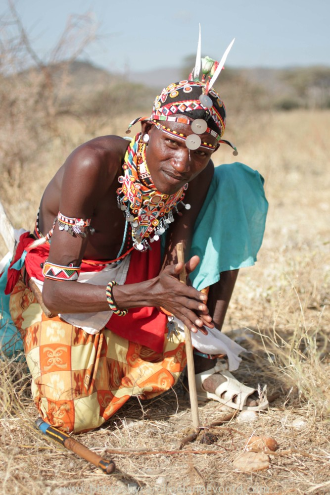 Random work from photos by caroline langevoord | portraits of east africa | making fire