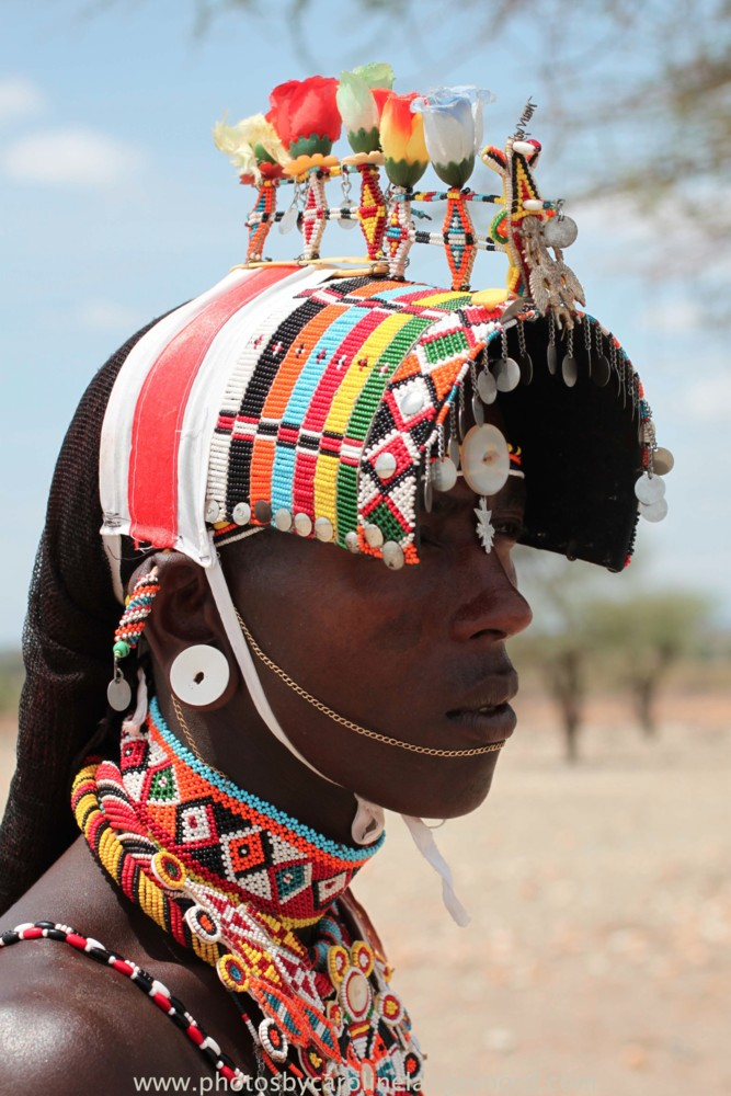 Random work from photos by caroline langevoord | portraits of east africa | samburu warrior