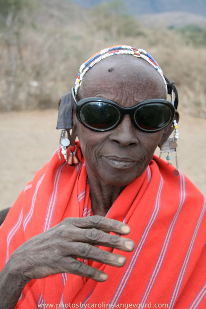 Random work from photos by caroline langevoord | portraits of east africa | masai woman with sunglass