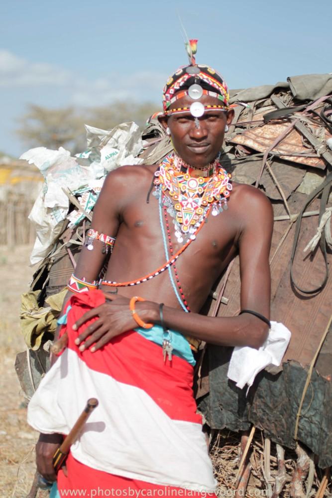 Random work from photos by caroline langevoord   portraits of east africa   a warrior in Samburu (2)