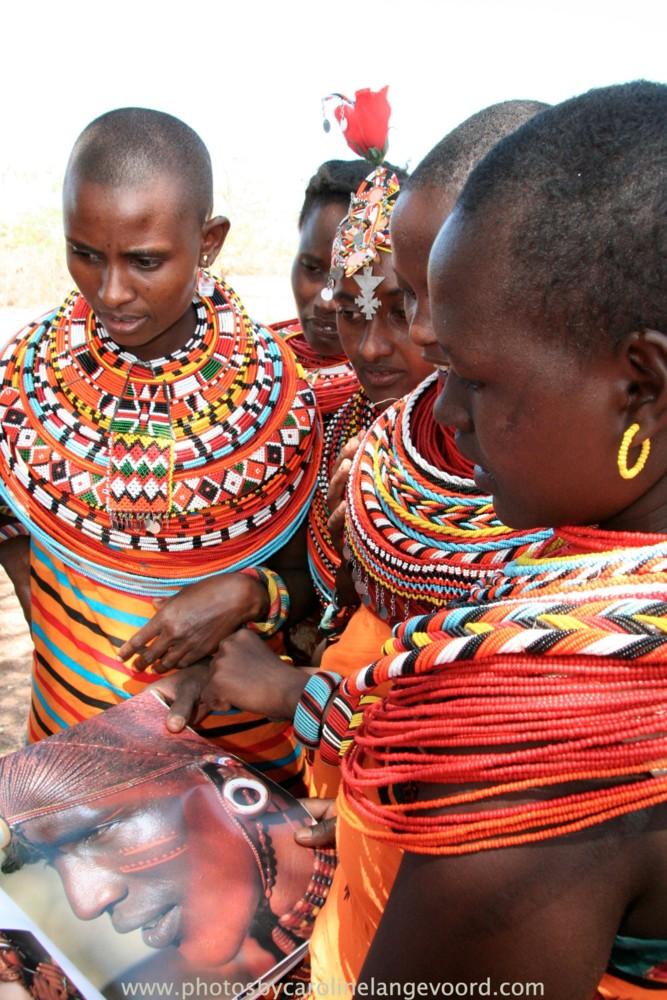 Random work from photos by caroline langevoord | portraits of east africa | samburu ladies reading a book