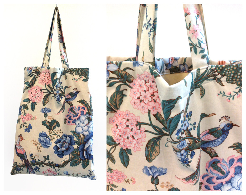 Random work from DEARHUNTER  | BAGS | DH Japanese Birds & Flowers Bag I