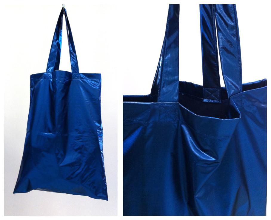 Random work from DEARHUNTER  | BAGS | DH Blue Metallic Bag
