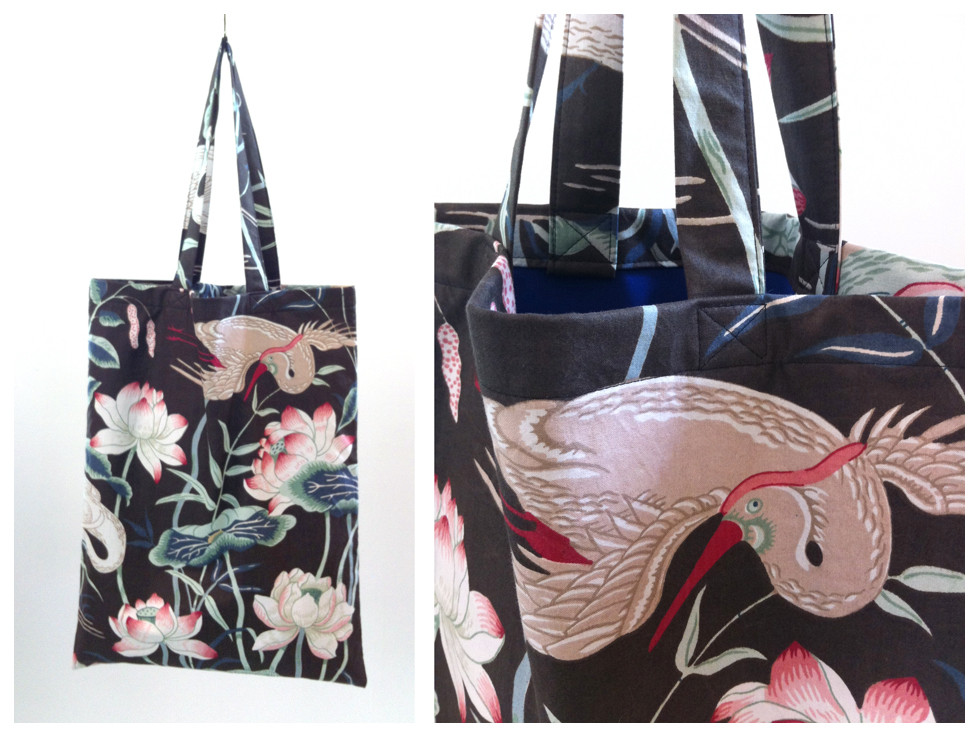 Random work from DEARHUNTER  | BAGS | DH Japenese Flowers & Birds Bag II