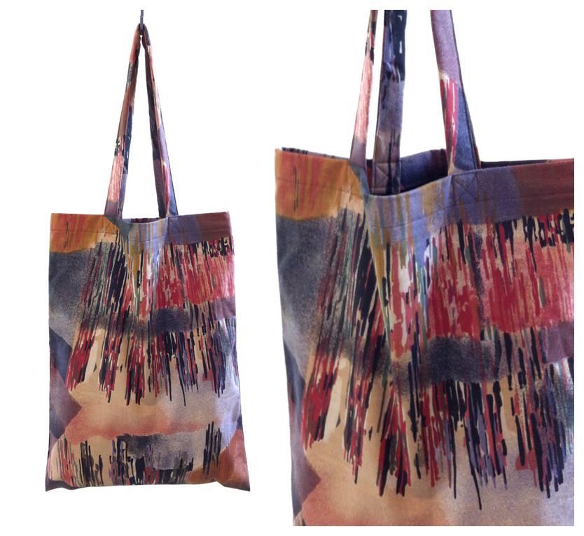 Random work from DEARHUNTER  | BAGS | DH 80's Curtain Print Bag