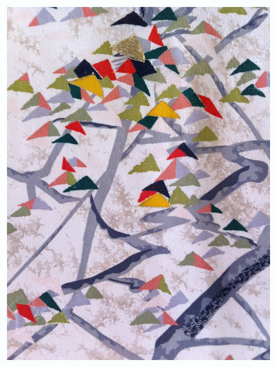 Random work from DEARHUNTER  | PRINTS EXTRAORDINAIRE | Print Silk Haori