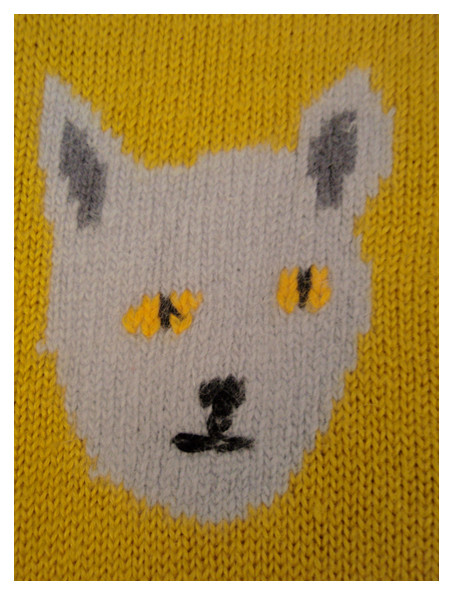 Random work from DEARHUNTER  | PRINTS EXTRAORDINAIRE | Print Handknitted Cat Sweater