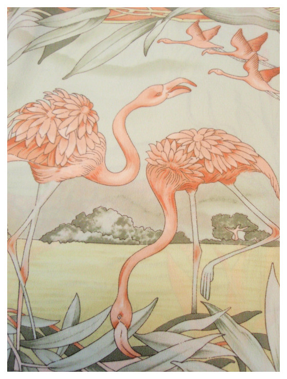 Random work from DEARHUNTER  | PRINTS EXTRAORDINAIRE | Print Pastel Flamingo Blouse