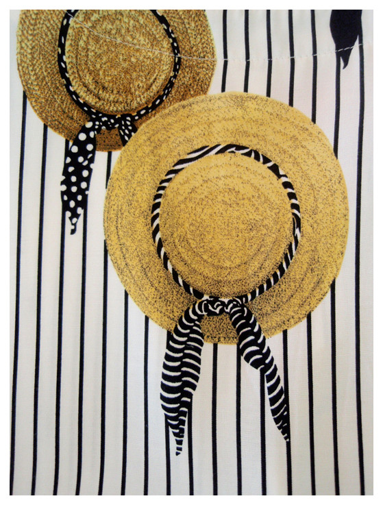 Random work from DEARHUNTER  | PRINTS EXTRAORDINAIRE | Print Stripes & Hats Top