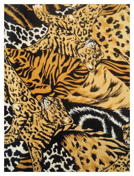 Random work from DEARHUNTER  | PRINTS EXTRAORDINAIRE | Print Tigers Escher Blouse