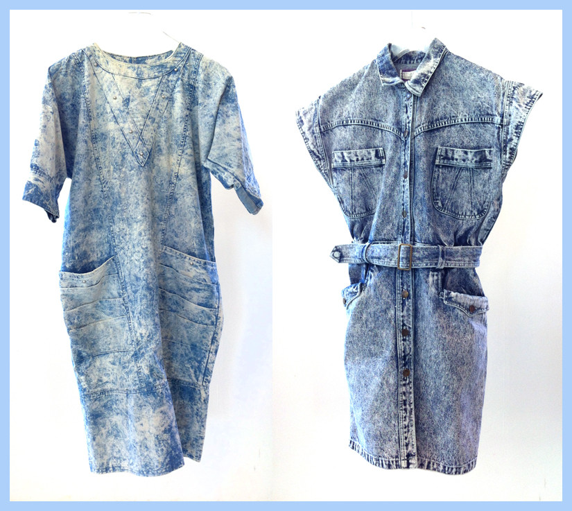 Random work from DEARHUNTER  | VINTAGE PORTFOLIO | Acid Wash Dresses