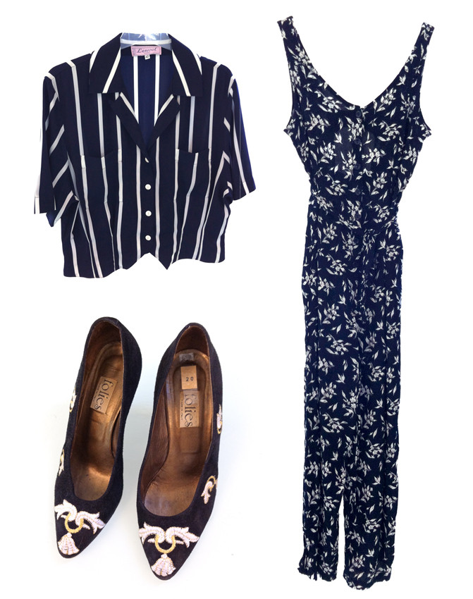 Random work from DEARHUNTER  | VINTAGE PORTFOLIO | Nautic Top - Heels - Playsuit