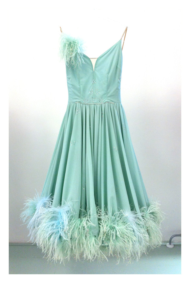 Random work from DEARHUNTER  | VINTAGE PORTFOLIO | Mint Ballroom Dress