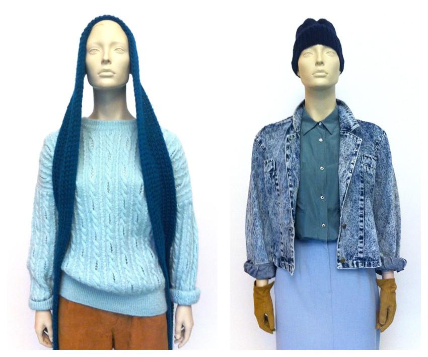 Random work from DEARHUNTER    DRESS UP DOLLS   Camel & Blue Outfits