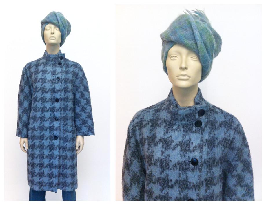 Random work from DEARHUNTER  | DRESS UP DOLLS | Mohair Tartan Scarf - Wool Pied de Poule Jacket