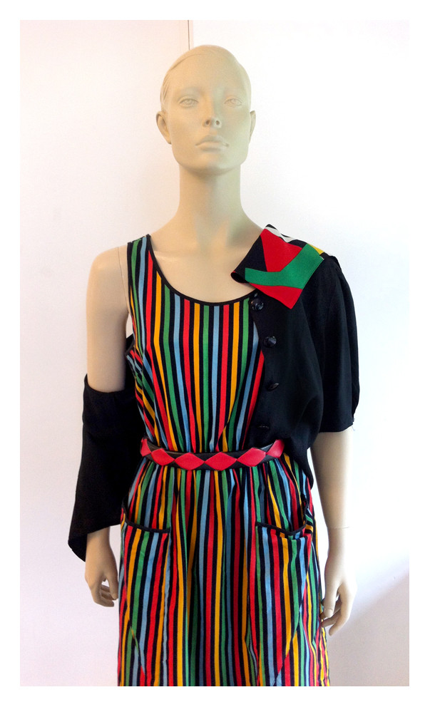 Random work from DEARHUNTER  | DRESS UP DOLLS | Bright Stripes Summer Dress