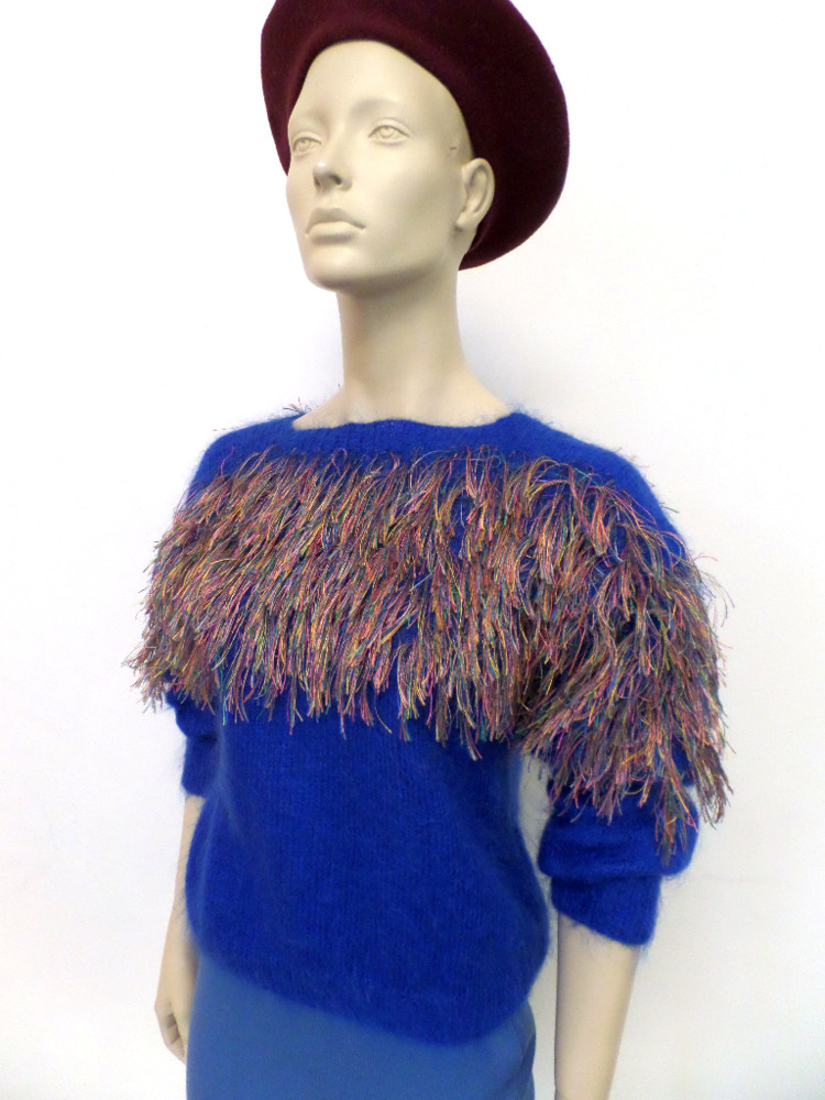 Random work from DEARHUNTER  | DRESS UP DOLLS | Mohair Jumper 'Bird of Paradise'
