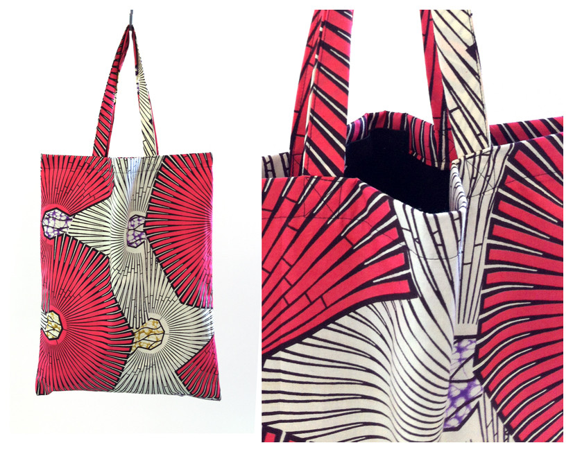 Random work from DEARHUNTER  | BAGS | DH Raspberry Wax Print Bag